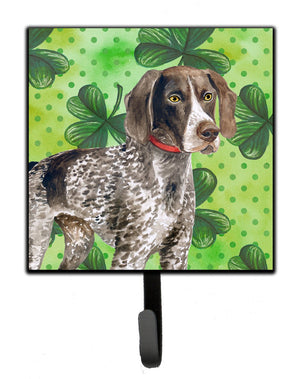 Buy this German Shorthaired Pointer St Patrick's Leash or Key Holder BB9815SH4