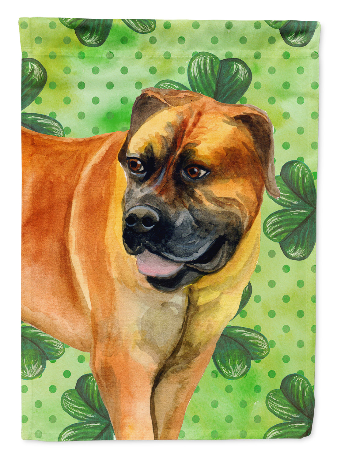 Boerboel Mastiff St Patrick's Flag Canvas House Size BB9820CHF by Caroline's Treasures