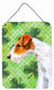 Fox Terrier St Patrick's Wall or Door Hanging Prints BB9824DS1216 by Caroline's Treasures