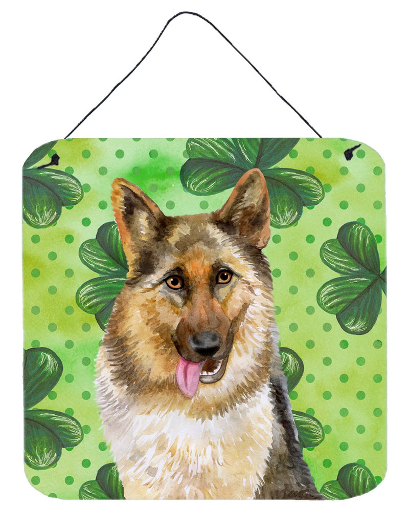 Buy this German Shepherd St Patrick's Wall or Door Hanging Prints