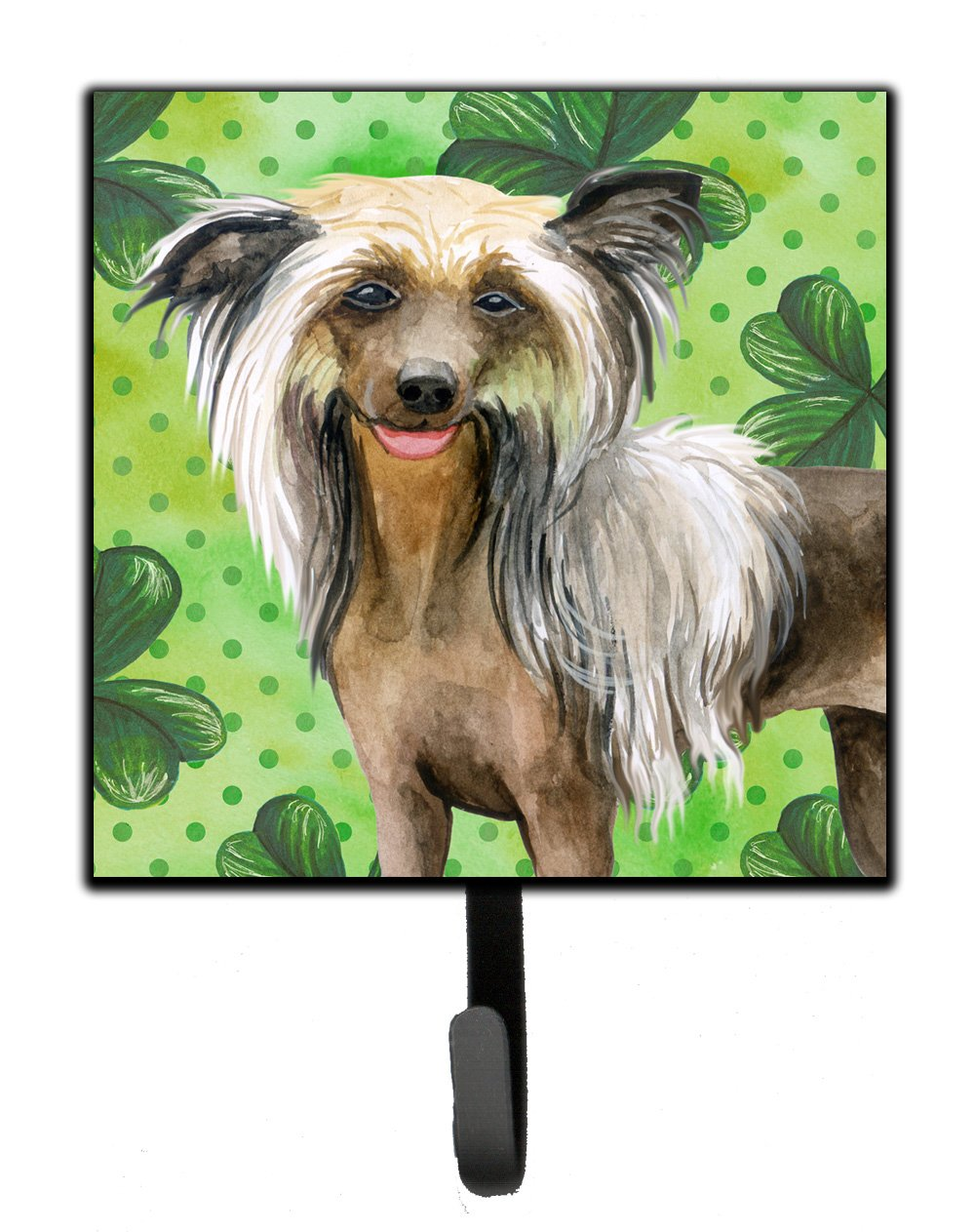 Buy this Chinese Crested St Patrick's Leash or Key Holder BB9833SH4