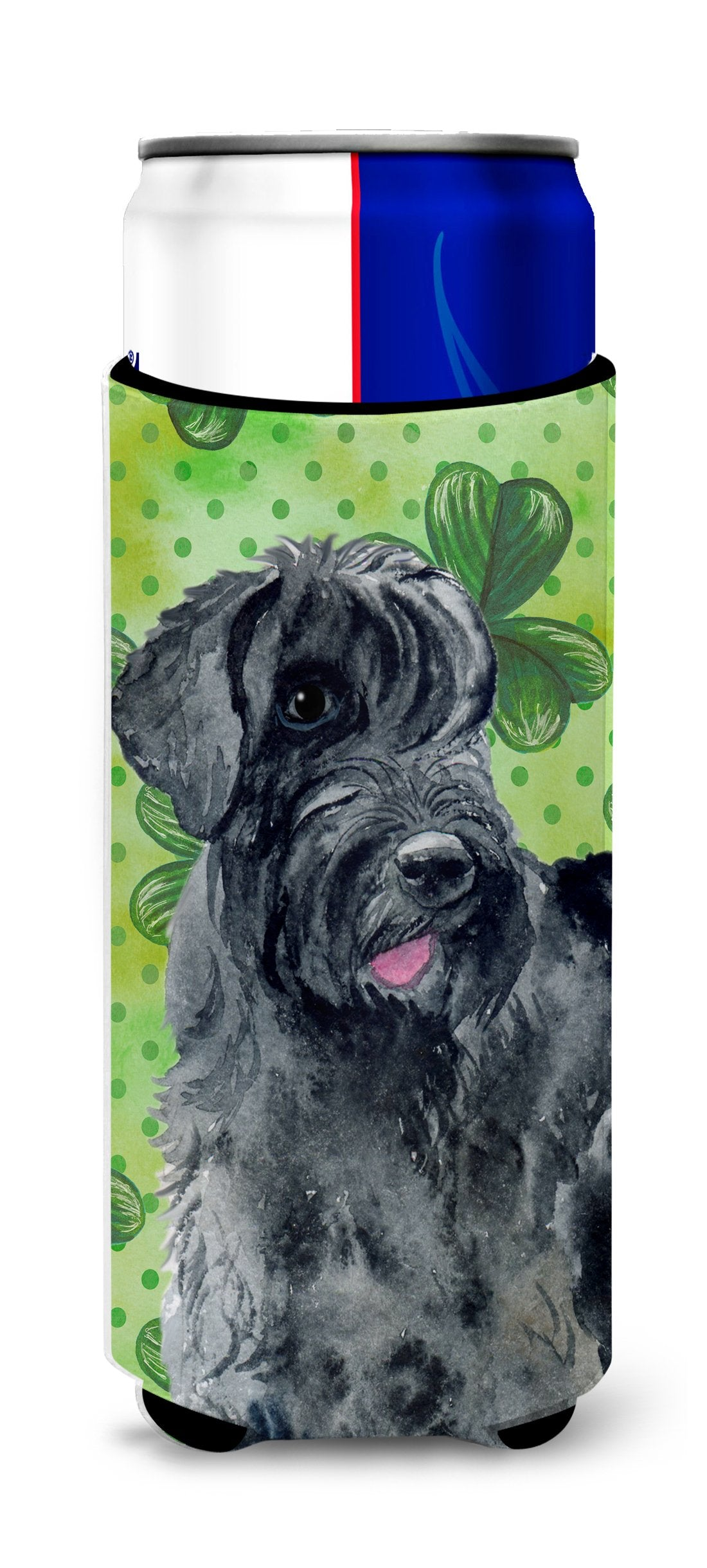 Giant Schnauzer St Patrick's Michelob Ultra Hugger for slim cans BB9834MUK by Caroline's Treasures