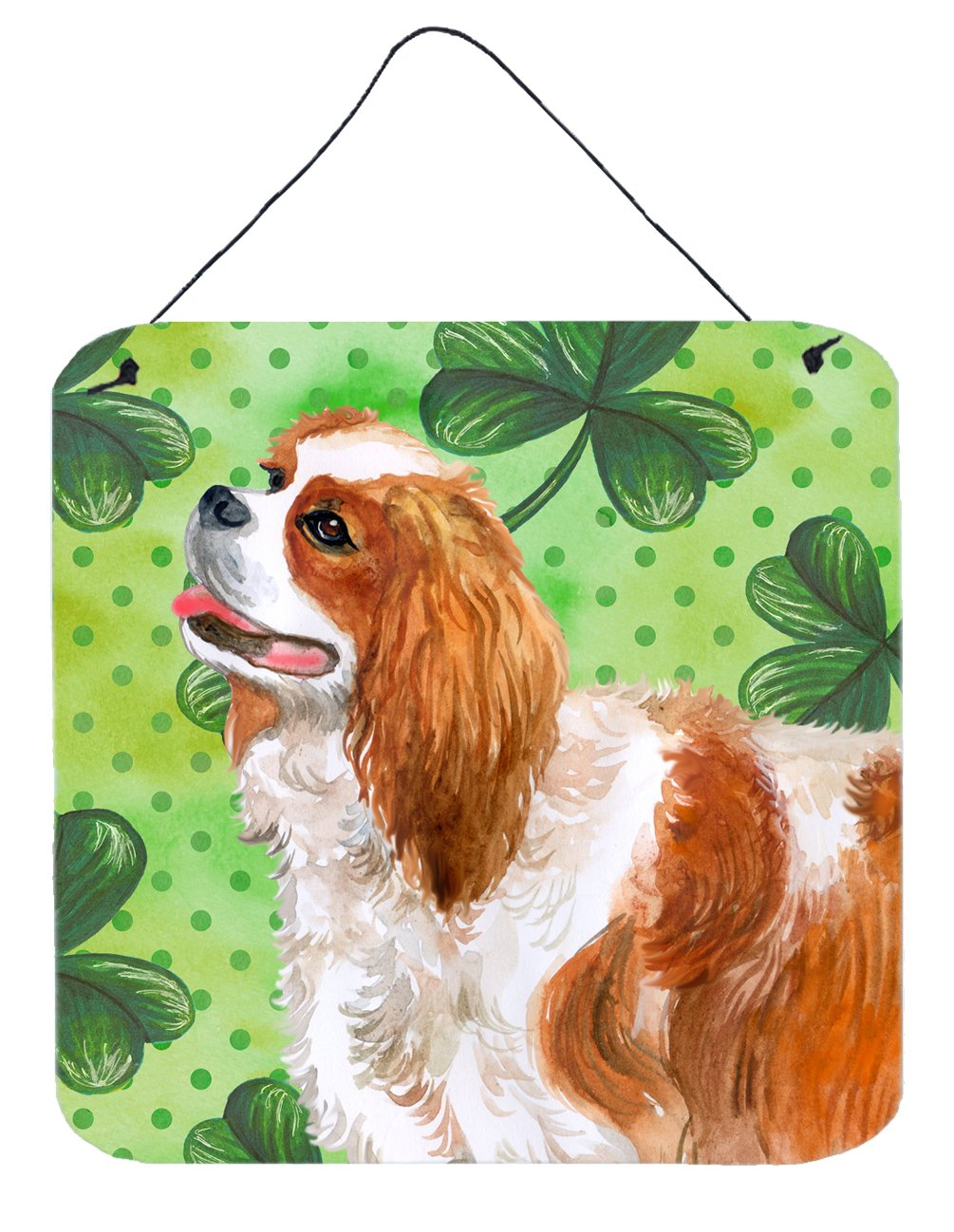 Buy this Cavalier Spaniel St Patrick's Wall or Door Hanging Prints