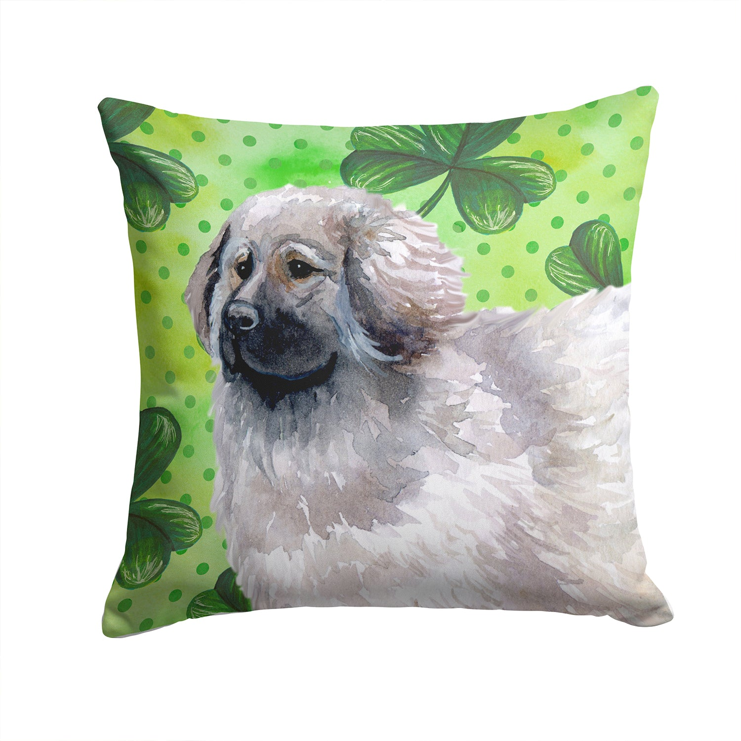 Buy this Moscow Watchdog St Patrick's Fabric Decorative Pillow BB9847PW1414