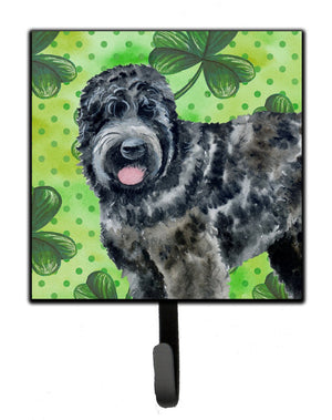 Buy this Black Russian Terrier St Patrick's Leash or Key Holder BB9851SH4