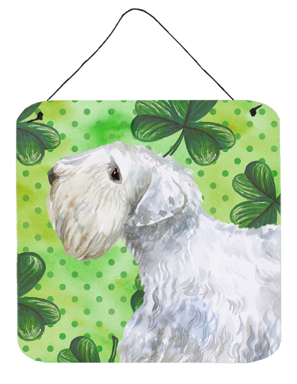 Sealyham Terrier St Patrick's Wall or Door Hanging Prints BB9858DS66 by Caroline's Treasures