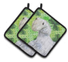 Sealyham Terrier St Patrick's Pair of Pot Holders BB9858PTHD by Caroline's Treasures