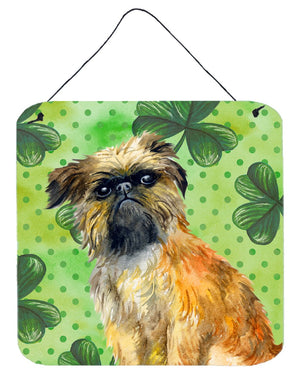 Buy this Brussels Griffon St Patrick's Wall or Door Hanging Prints BB9861DS66