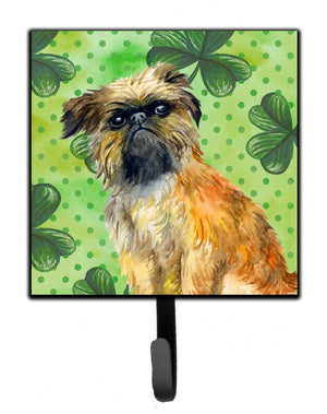 Buy this Brussels Griffon St Patrick's Leash or Key Holder BB9861SH4