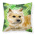 Buy this Cairn Terrier St Patrick's Fabric Decorative Pillow BB9864PW1818