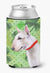 Bull Terrier St Patrick's Can or Bottle Hugger BB9867CC by Caroline's Treasures