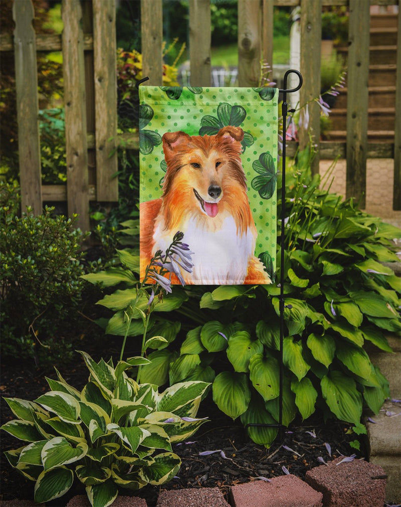Buy this Sheltie St Patrick's Flag Garden Size BB9894GF