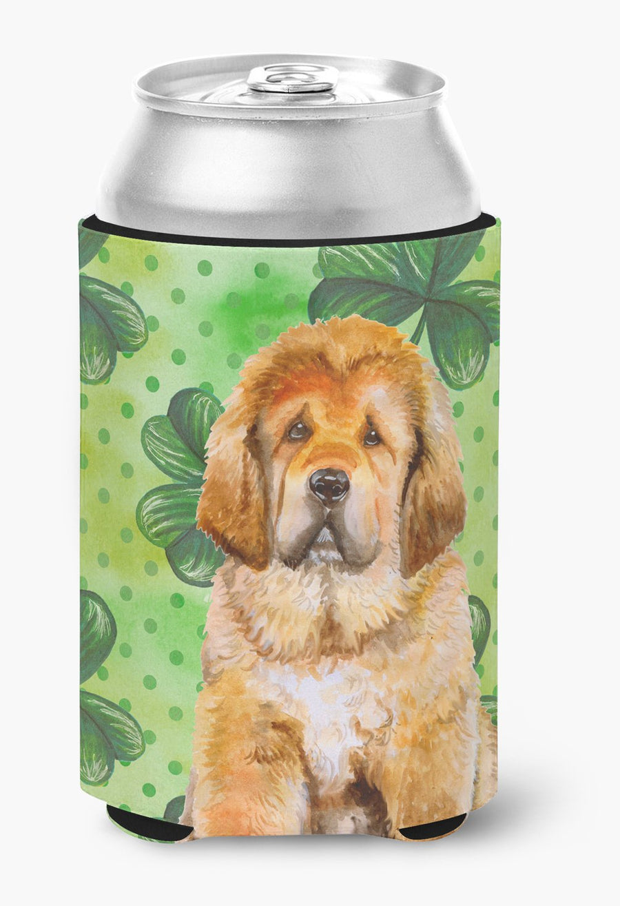 Buy this Tibetan Mastiff St Patrick's Can or Bottle Hugger BB9895CC