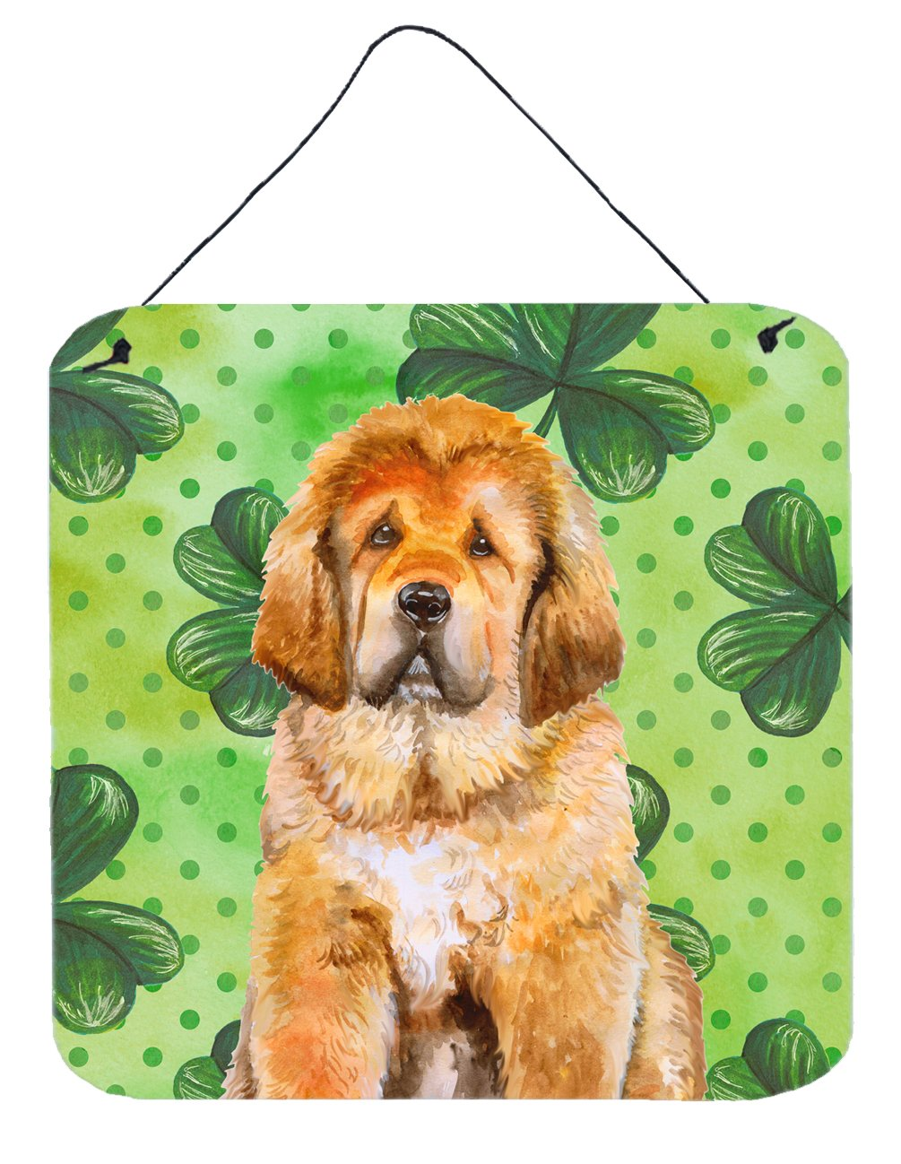 Buy this Tibetan Mastiff St Patrick's Wall or Door Hanging Prints BB9895DS66