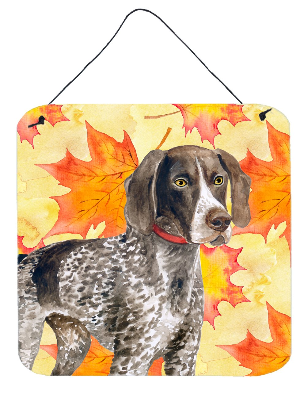 Buy this German Shorthaired Pointer Fall Wall or Door Hanging Prints BB9902DS66
