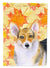 Pembroke Corgi Fall Flag Garden Size BB9903GF by Caroline's Treasures