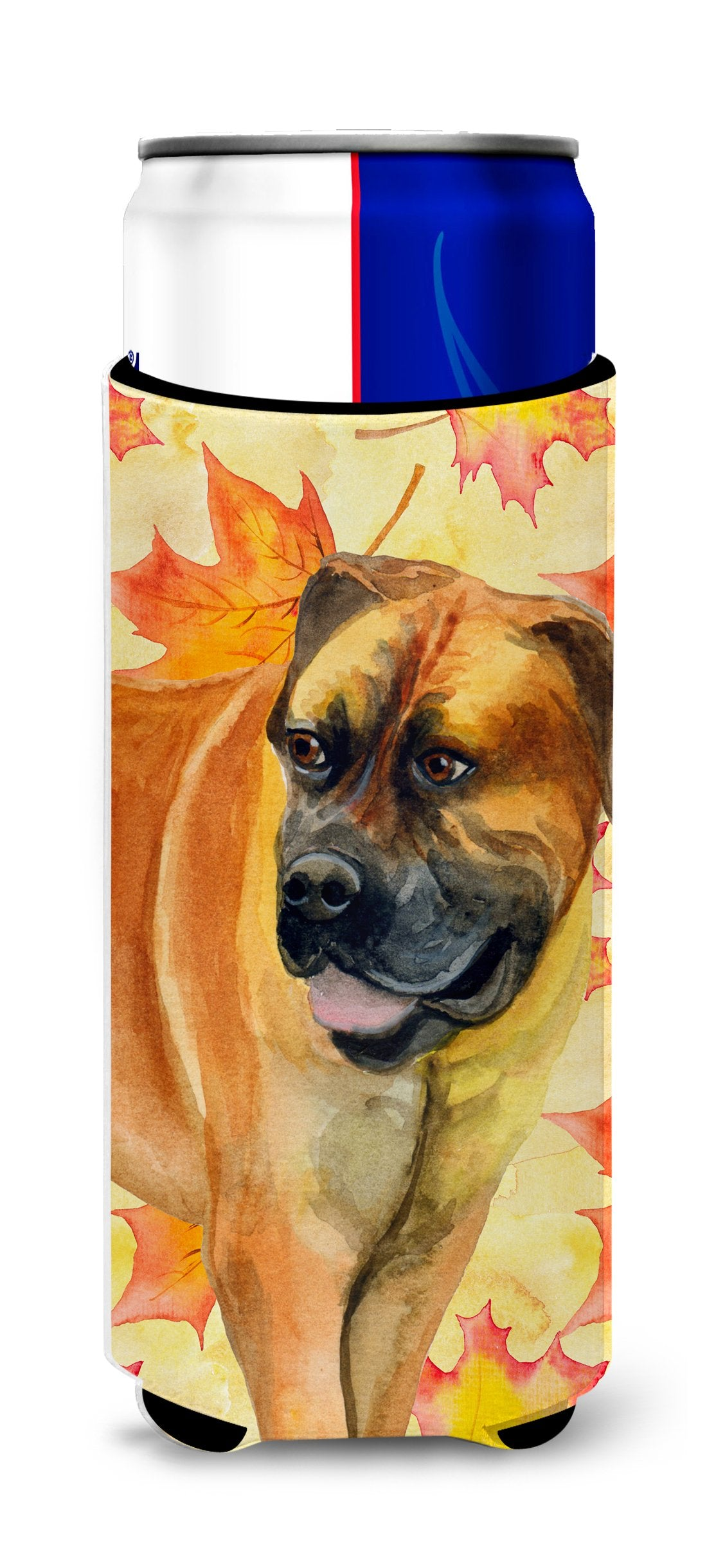 Boerboel Mastiff Fall Michelob Ultra Hugger for slim cans BB9907MUK by Caroline's Treasures
