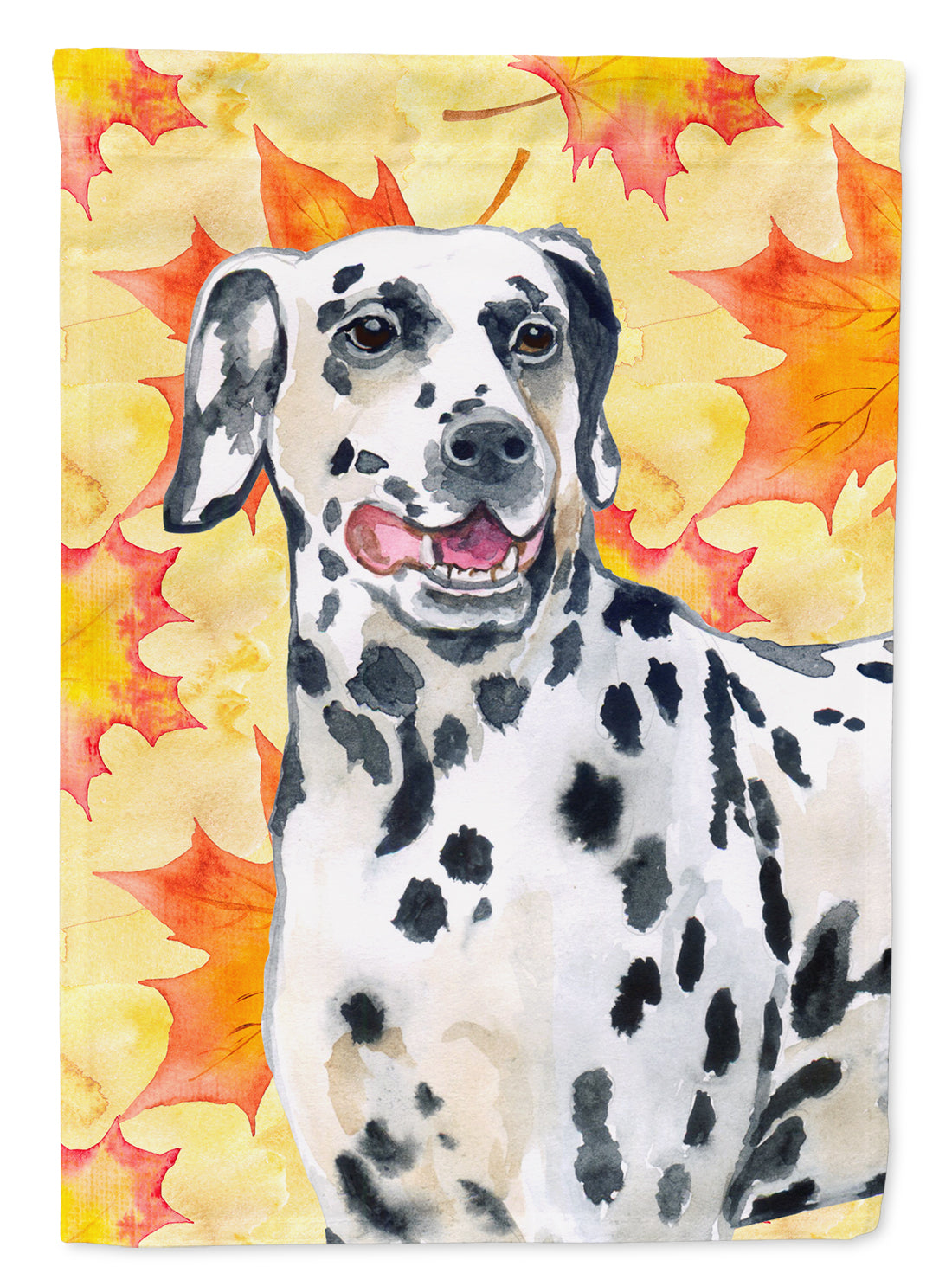 Dalmatian Fall Flag Canvas House Size BB9914CHF by Caroline's Treasures