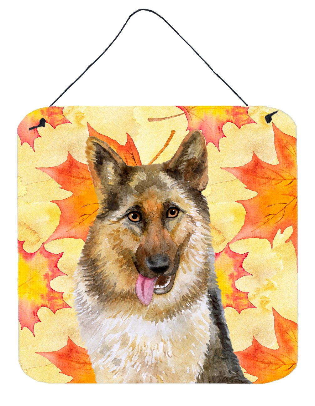Buy this German Shepherd Fall Wall or Door Hanging Prints BB9915DS66