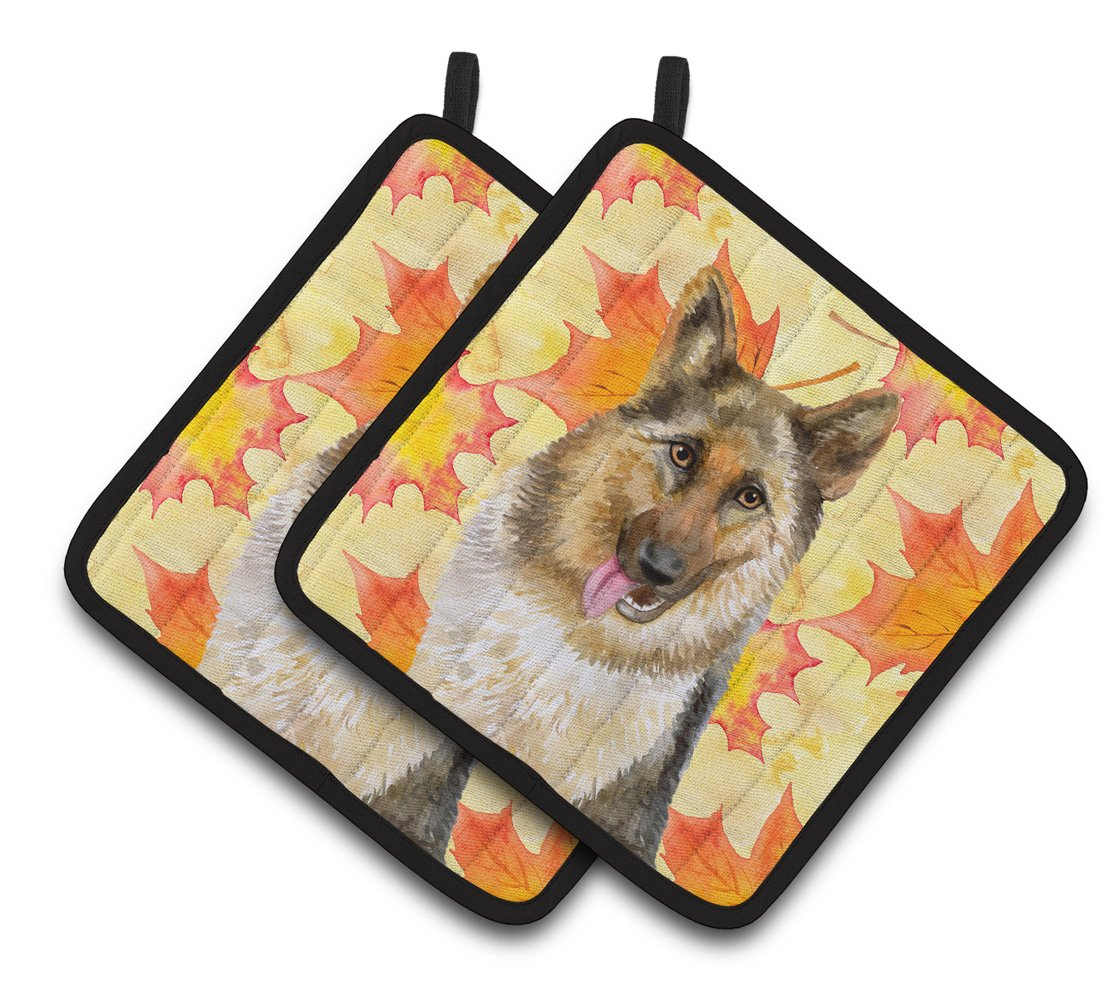 Buy this German Shepherd Fall Pair of Pot Holders BB9915PTHD
