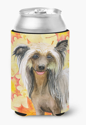 Buy this Chinese Crested Fall Can or Bottle Hugger BB9920CC