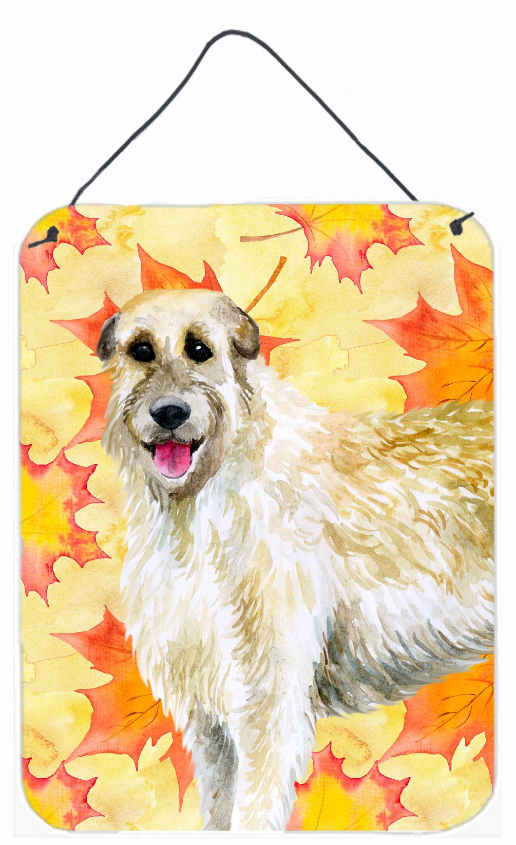 Irish Wolfhound Fall Wall or Door Hanging Prints BB9931DS1216 by Caroline's Treasures