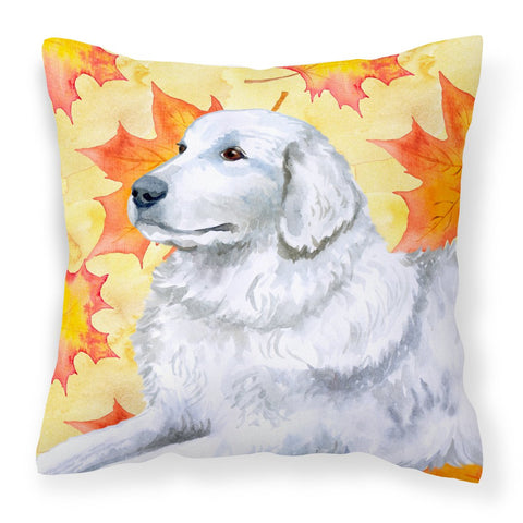 Buy this Maremma Sheepdog Fall Fabric Decorative Pillow BB9936PW1818