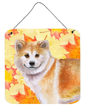 Buy this Shiba Inu Fall Wall or Door Hanging Prints BB9939DS66