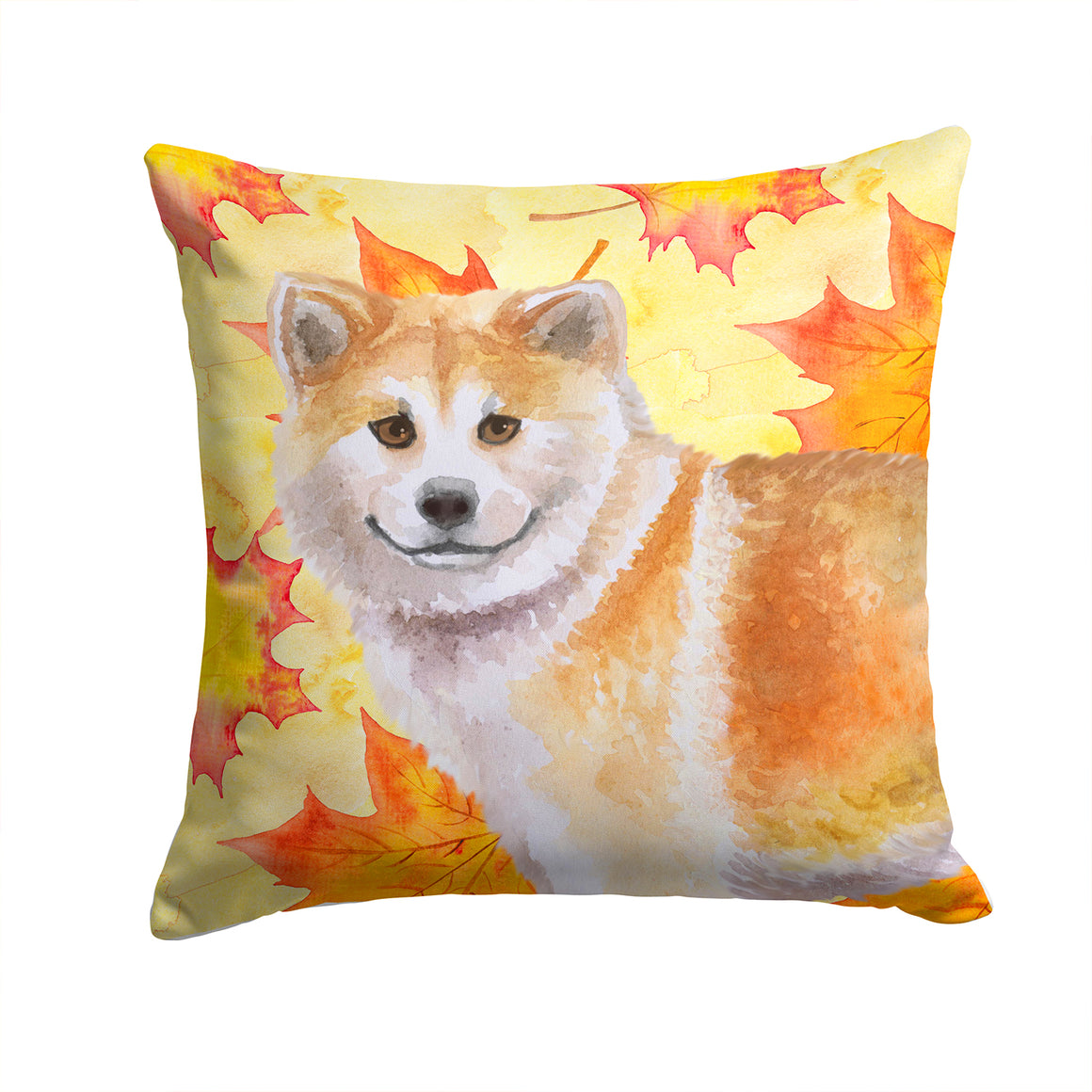 Buy this Shiba Inu Fall Fabric Decorative Pillow BB9939PW1414