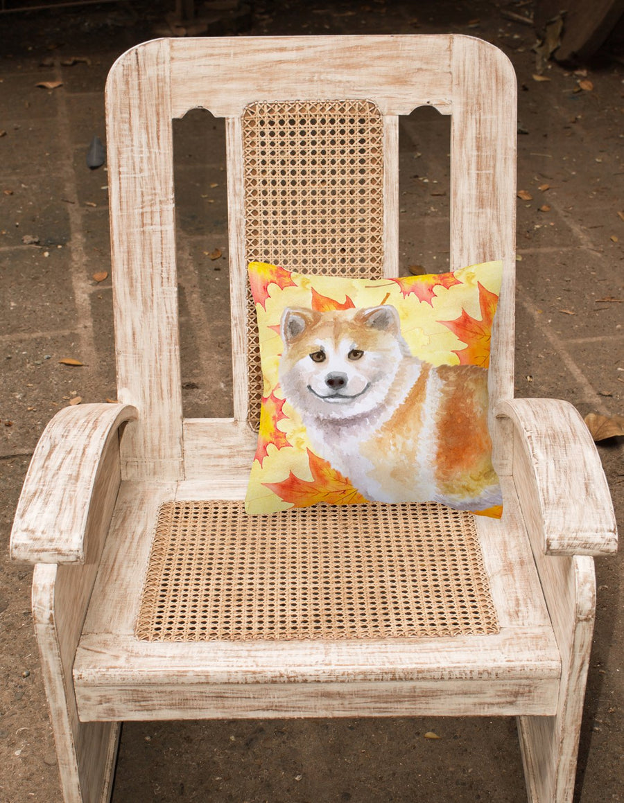 Buy this Shiba Inu Fall Fabric Decorative Pillow BB9939PW1818