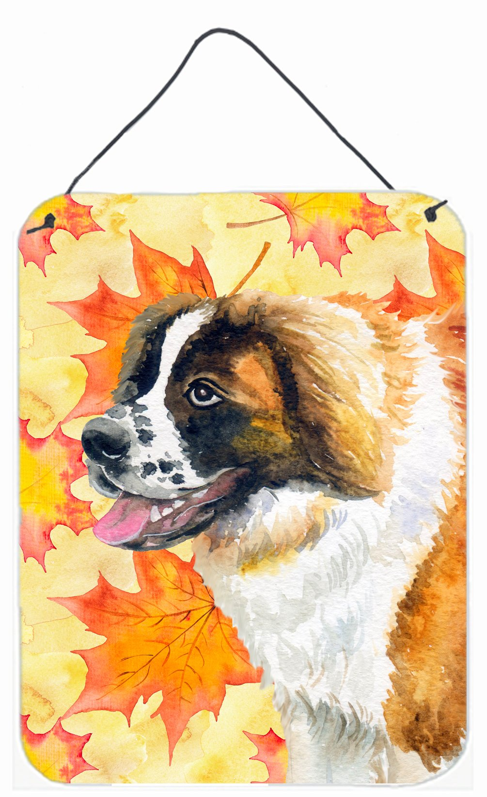 Saint Bernard Fall Wall or Door Hanging Prints BB9940DS1216 by Caroline's Treasures