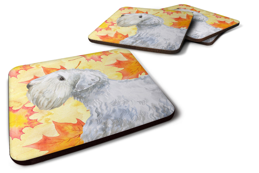 Buy this Set of 4 Sealyham Terrier Fall Foam Coasters Set of 4