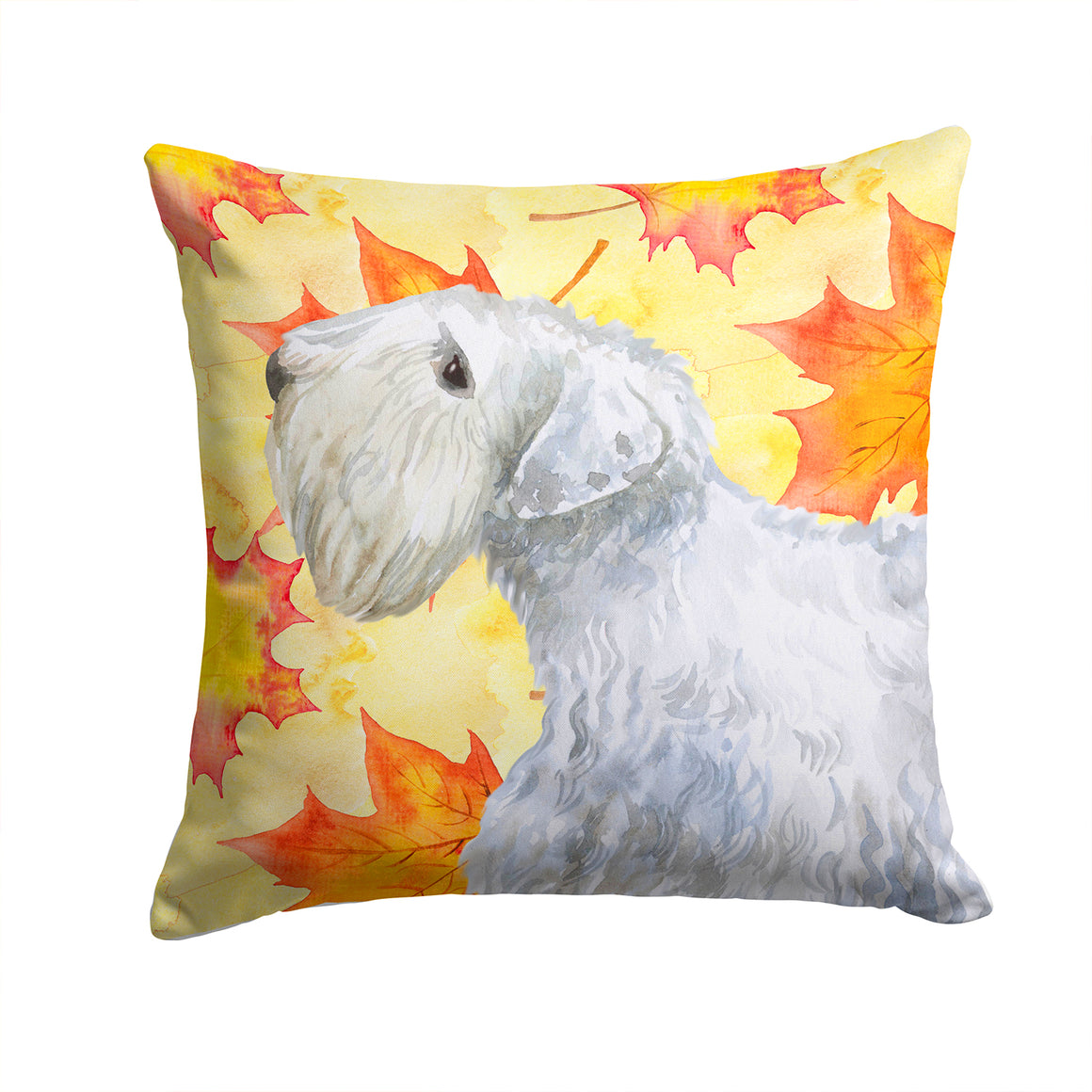 Buy this Sealyham Terrier Fall Fabric Decorative Pillow BB9945PW1414