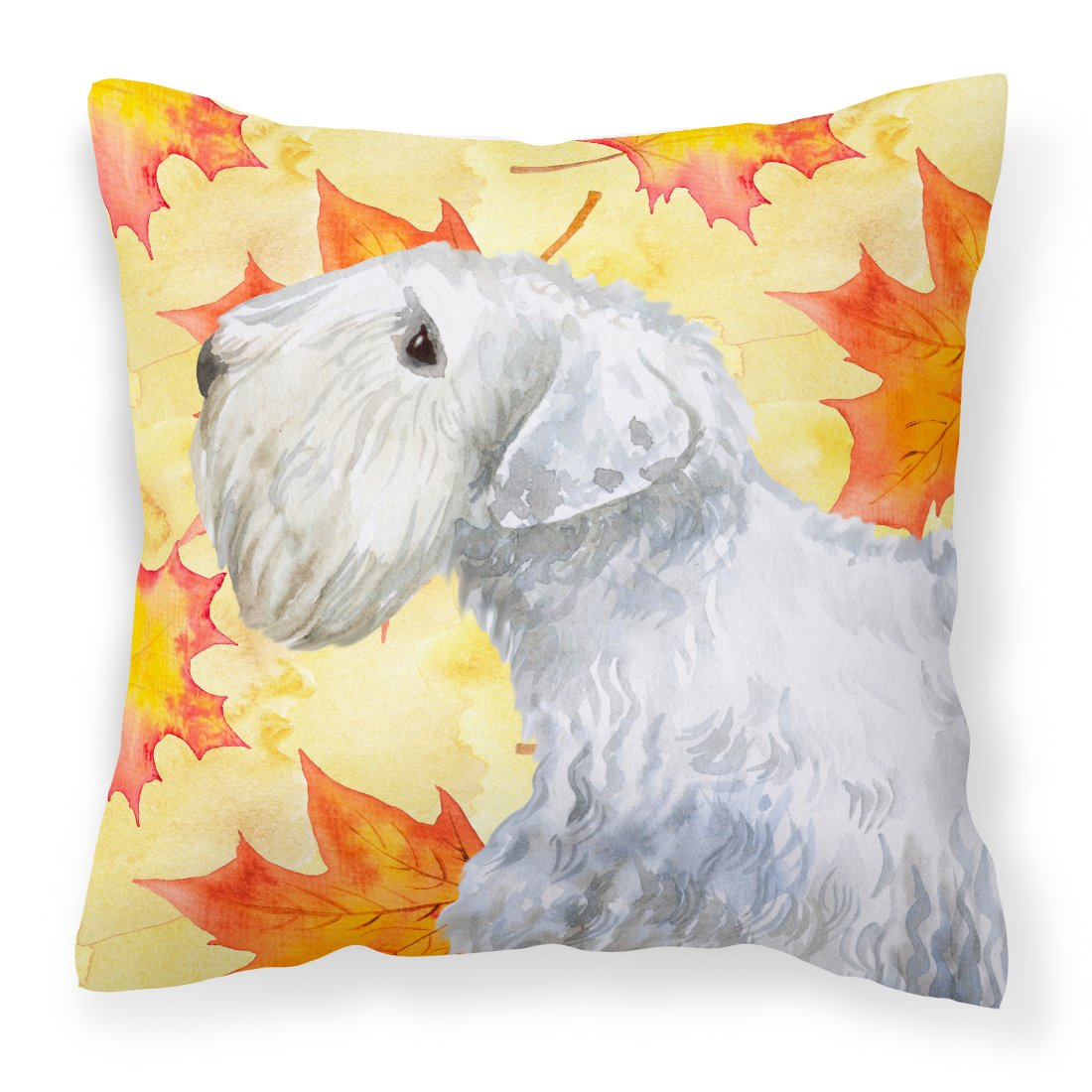 Buy this Sealyham Terrier Fall Fabric Decorative Pillow BB9945PW1818