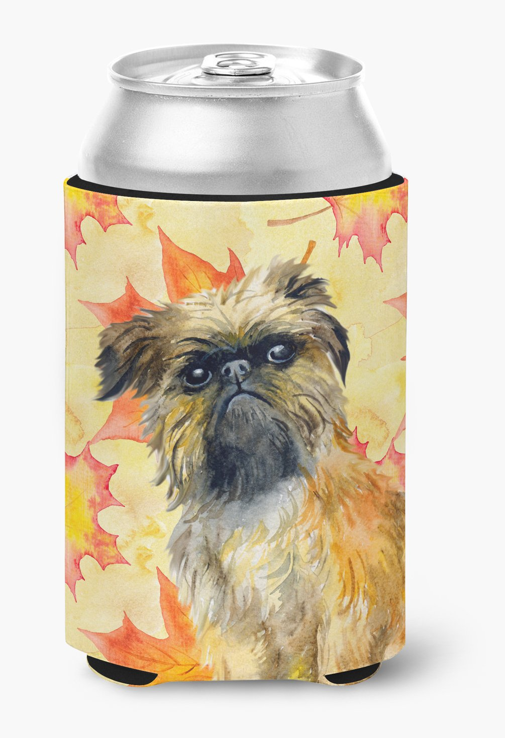 Buy this Brussels Griffon Fall Can or Bottle Hugger BB9948CC