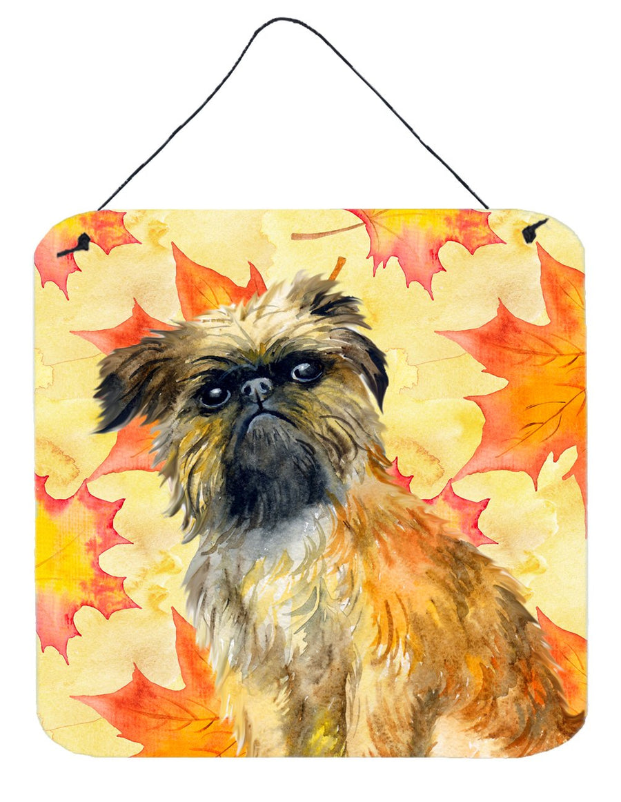 Buy this Brussels Griffon Fall Wall or Door Hanging Prints BB9948DS66