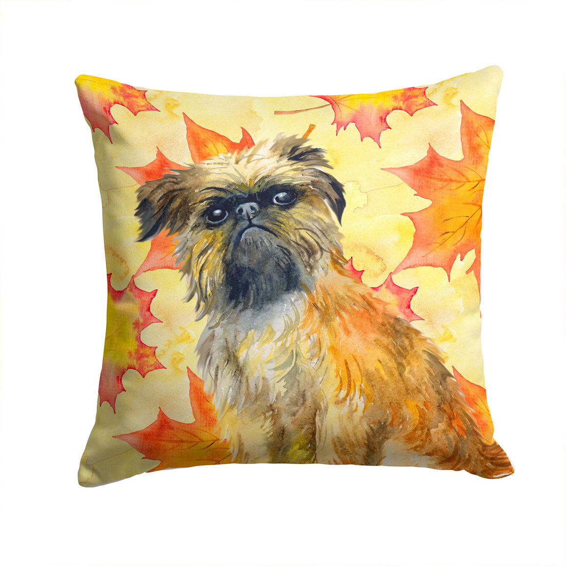 Buy this Brussels Griffon Fall Fabric Decorative Pillow