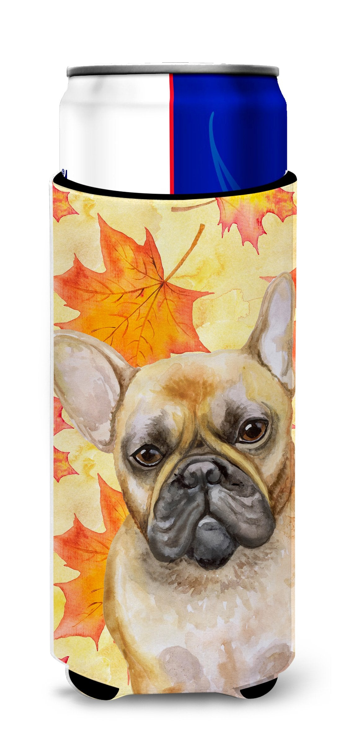 French Bulldog Fall Michelob Ultra Hugger for slim cans BB9949MUK by Caroline's Treasures