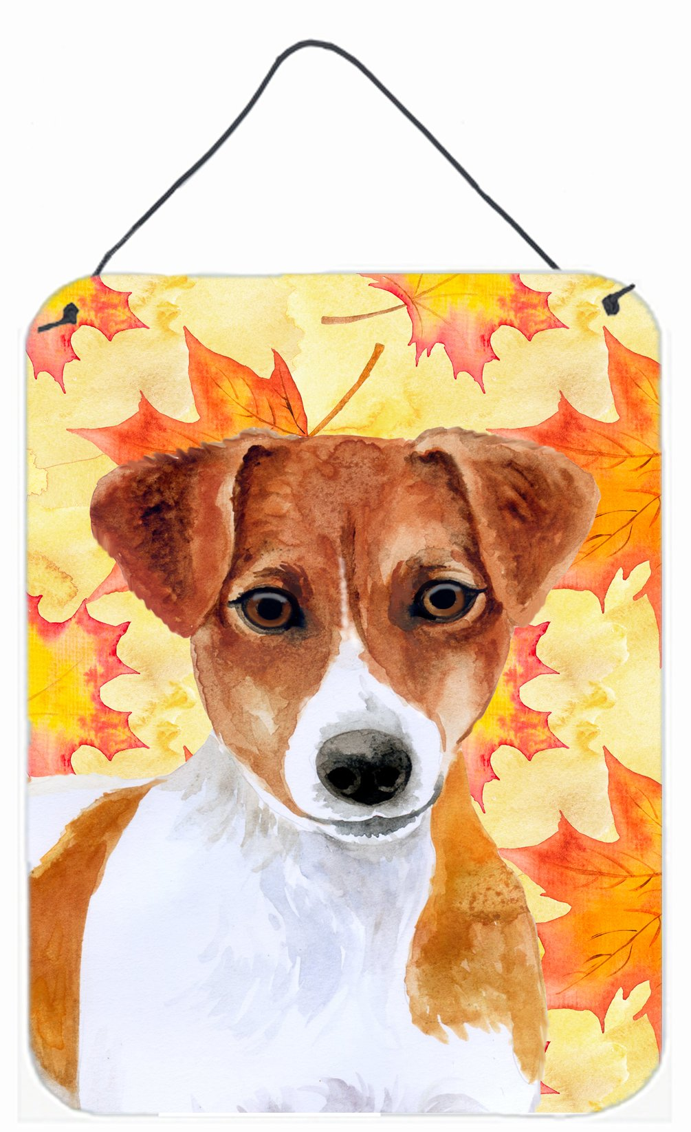 Jack Russell Terrier Fall Wall or Door Hanging Prints BB9950DS1216 by Caroline's Treasures