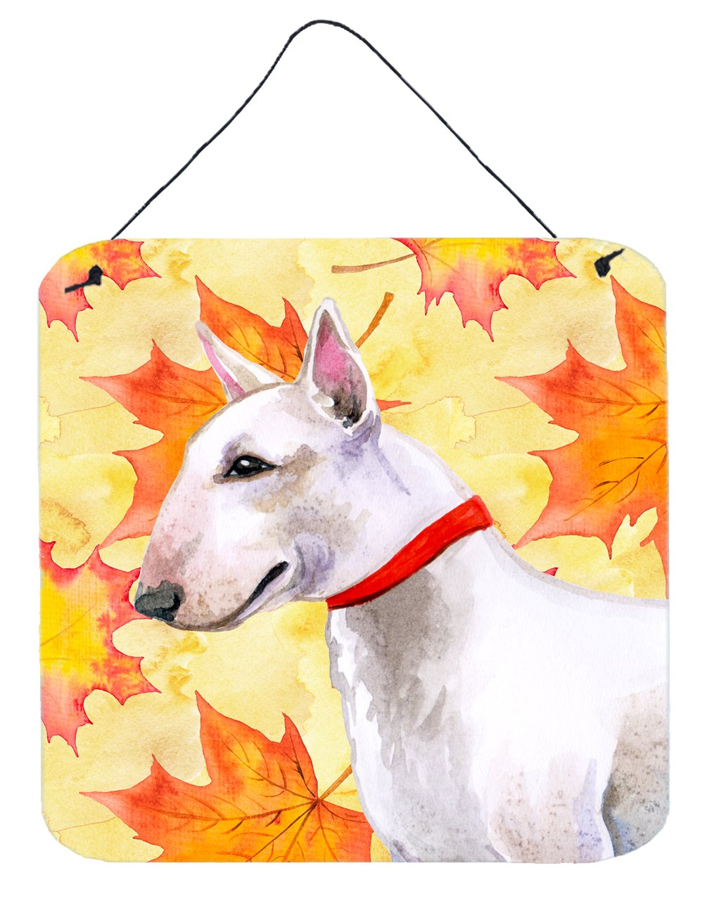 Buy this Bull Terrier Fall Wall or Door Hanging Prints BB9954DS66