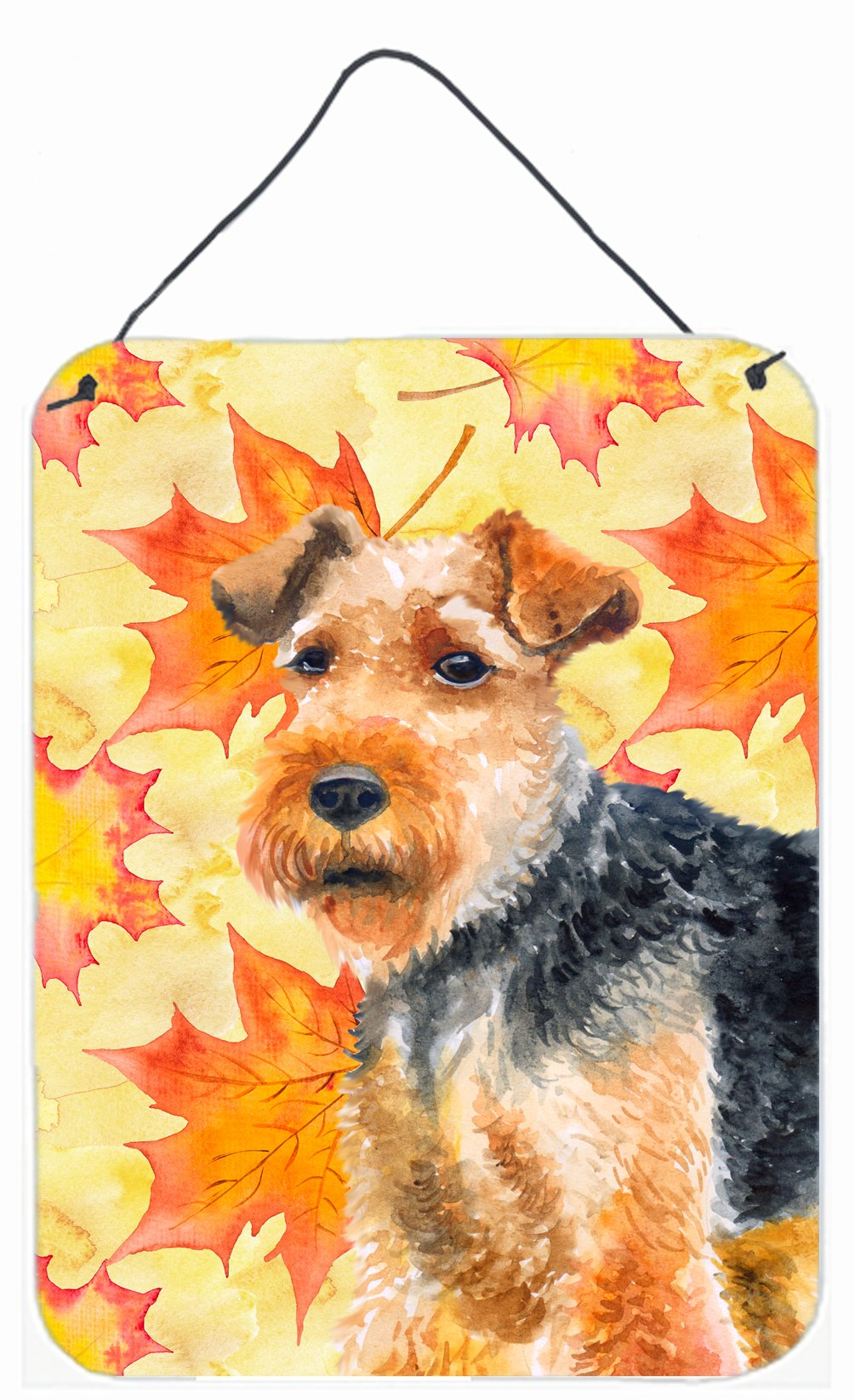 Buy this Welsh Terrier Fall Wall or Door Hanging Prints BB9961DS1216