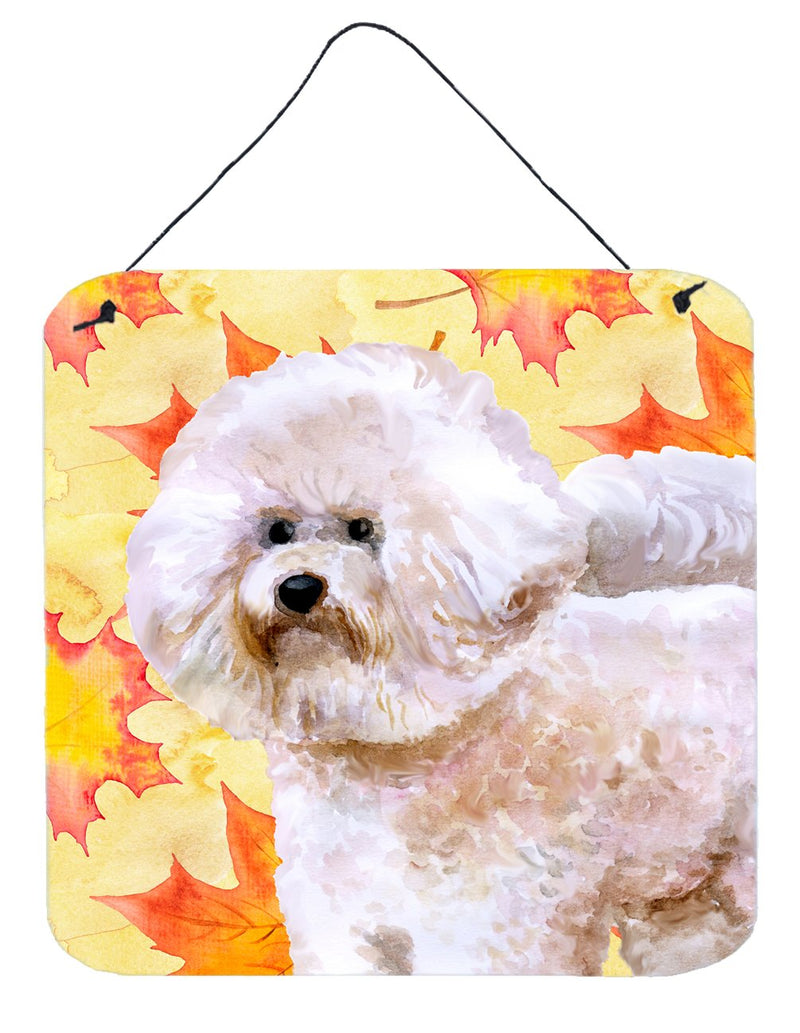 Buy this Bichon Frise #2 Fall Wall or Door Hanging Prints BB9966DS66