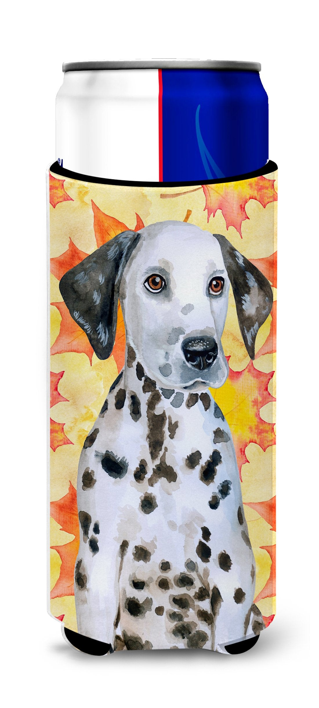 Dalmatian Puppy Fall Michelob Ultra Hugger for slim cans BB9969MUK by Caroline's Treasures