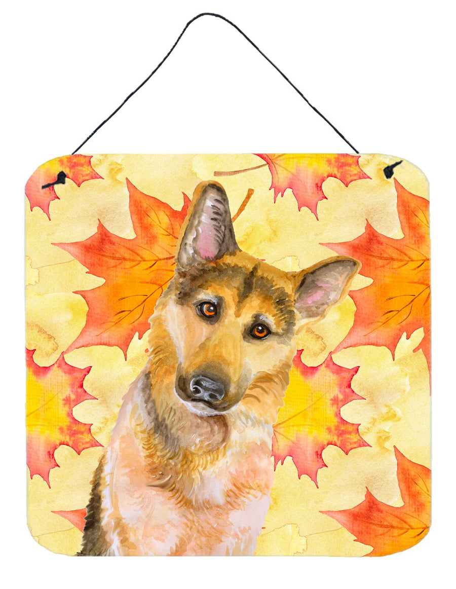 Buy this German Shepherd #2 Fall Wall or Door Hanging Prints BB9972DS66