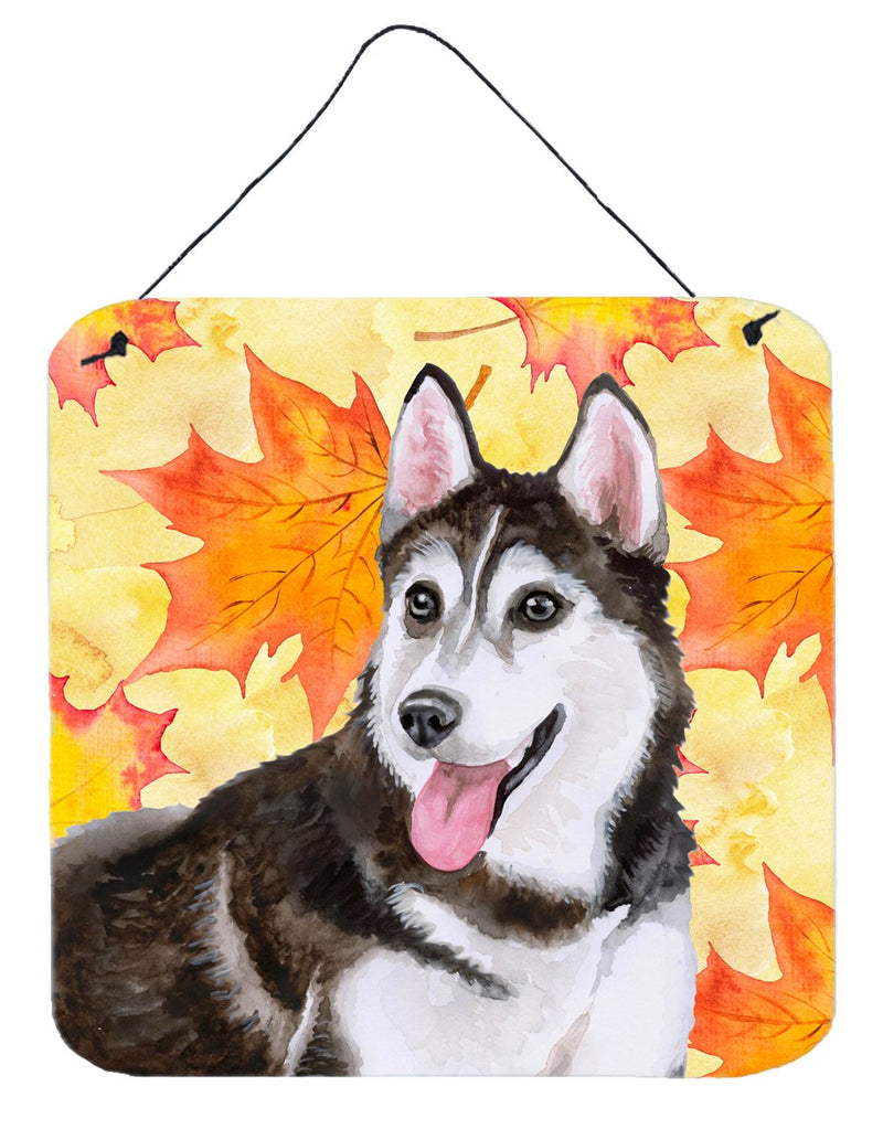 Buy this Siberian Husky #2 Fall Wall or Door Hanging Prints BB9973DS66