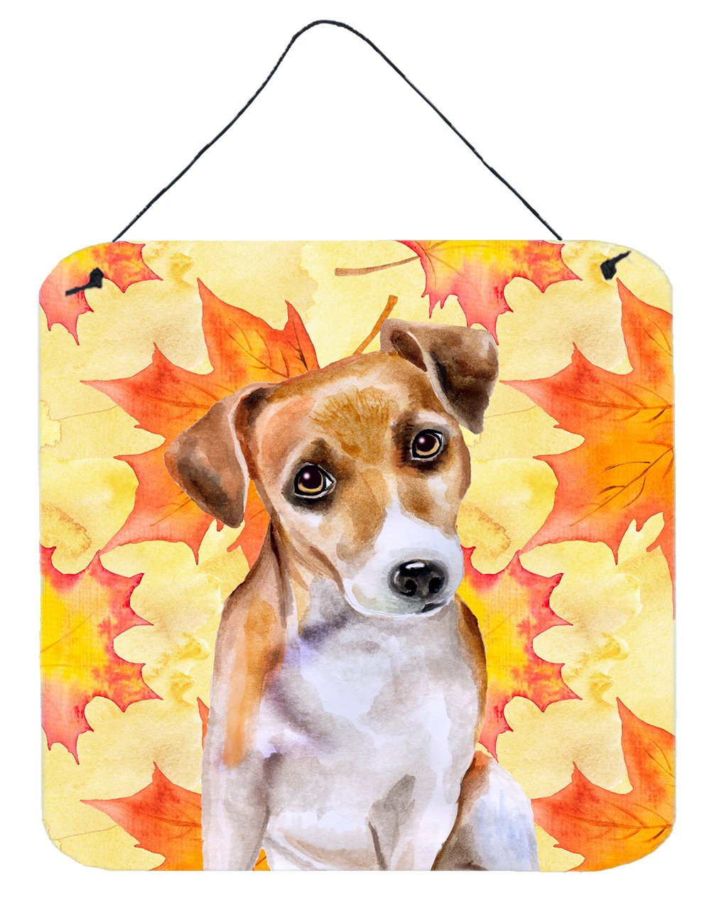 Buy this Jack Russell Terrier #2 Fall Wall or Door Hanging Prints BB9974DS66