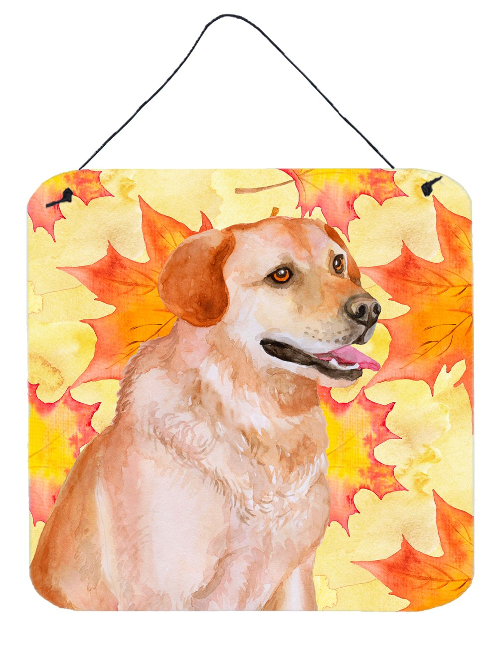 Buy this Labrador Retriever Fall Wall or Door Hanging Prints BB9975DS66