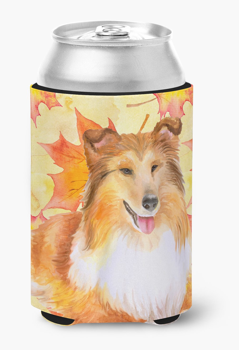 Buy this Sheltie Fall Can or Bottle Hugger BB9981CC
