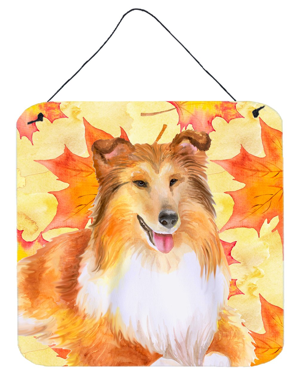 Buy this Sheltie Fall Wall or Door Hanging Prints BB9981DS66
