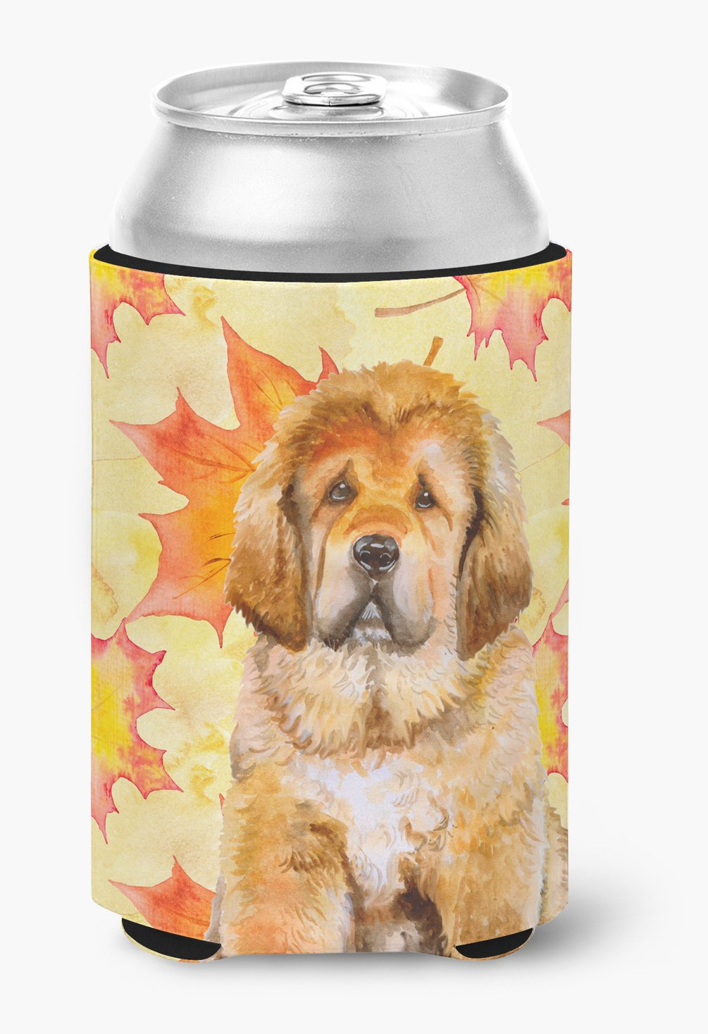 Tibetan Mastiff Fall Can or Bottle Hugger BB9982CC by Caroline's Treasures
